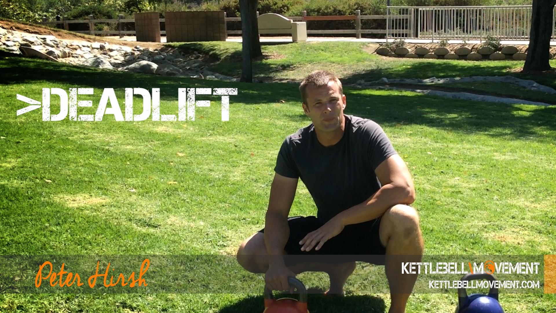 What Is A Kettlebell Deadlift